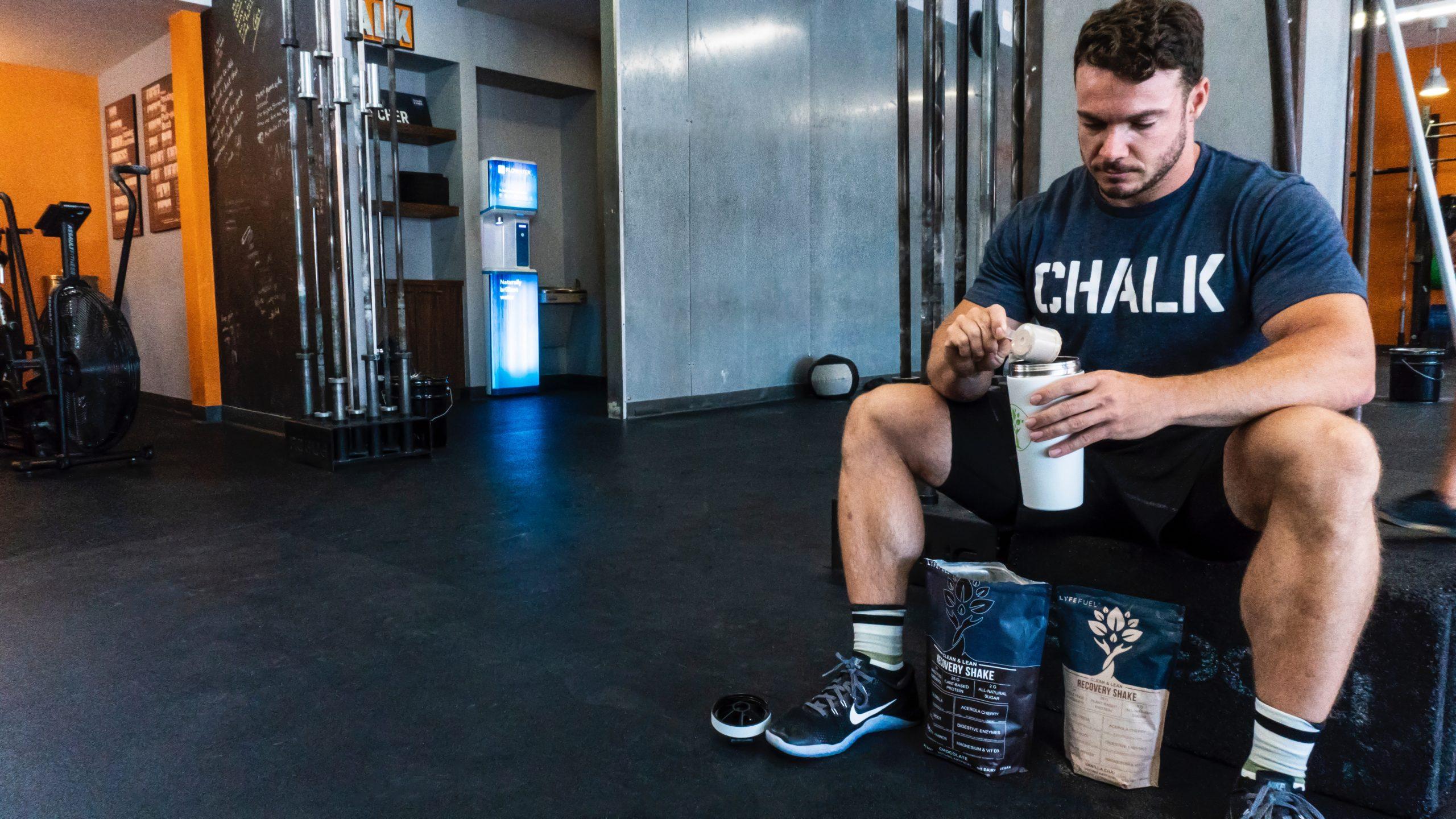Proteine per bodybuilder palestra